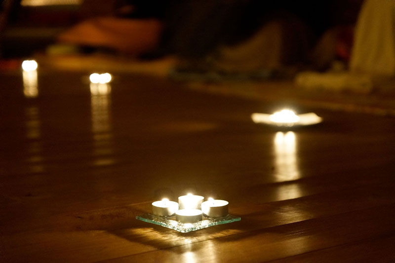 bougies meditation