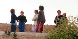 Groupe de femmes à l'occasion d'un cercle de femmes animé par Agnès Delattre