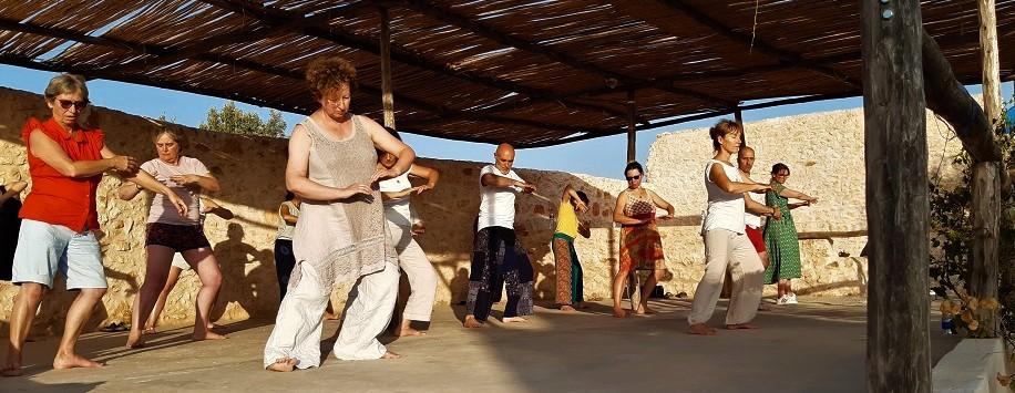 Stage de Qi Gong et méditation Maroc Essaouira Agnès Delattre